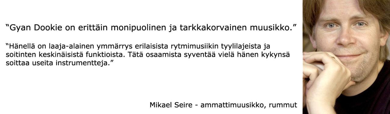 Mikael Seire - ammattimuusikko